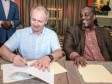 Haiti - Football : The Mayor of PAP signs an agreement with a French Club
