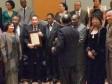 iciHaïti - Social : Le Consul Général d'Haïti à Chicago, honoré