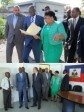 Haiti - Health : Moïse on tour in several hospitals