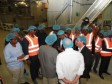 iciHaiti - Politics : Visit of Moïse to the «Caribbean Food Manufacturing»