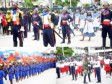 Haiti - Social : Moving tribute from youth to our national bicolor