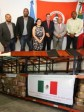 Haiti - Mexico : Delivey of 13 tons of humanitarian aid