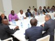 Haiti - Security : Head of State receives a team of researchers