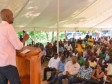 Haiti - Agriculture : Moïse promises 9 rice processing plants in Artibonite
