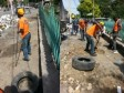 Haiti - Environment : Civil Protection investing in the cleaning of Port-au-Prince
