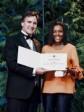 iciHaiti - Diaspora : Suze Youance receives Sir Casimir Gzowski medal