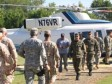 Haiti - Security : Dominican High Command inspects the border