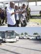 iciHaïti - Éducation :  Moïse Visite le Service de Transport Scolaire Dignité