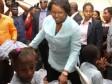Haiti - Social : Martine Moïse distributes school kits