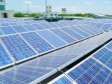 Haiti - Technology : Inauguration of a solar power plant in Tabarre