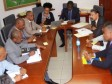 Haiti - Economy : The Ministry of Finance receives a delegation from the World Bank