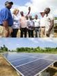 iciHaiti - Politics : President visits the site of the Irois power plant