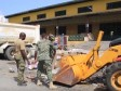 Haiti - Environment : Our Military Engineering Corps collect garbage !