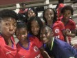 Haiti - Football : Women's Cup U-20, our Grenadières in St Kitts