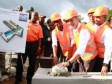 Haiti - Economy : Laying the cornerstone of the micro-Industrial Park Moreau/Camp-Perrin