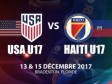 Haiti - Uruguay 2018 : Our Grenadières U-17 in Florida for two friendly matches