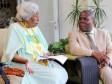 iciHaïti - Éducation : Le Ministre de l'Education rencontre Odette Roy Fombrun
