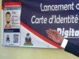 iciHaiti - Politic : Launch of the Digitalised Professional Identity Card (West)