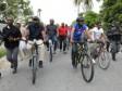 iciHaiti - Politic : President Moïse on bicycle