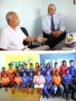 iciHaïti - Coupe du Monde : La Ministre Lamur s'entretient avec Marc Collat