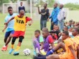 Haiti - Football : Camp Nou Academy in talent detection mode