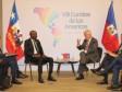 Haïti - FLASH : Moïse discute des Visas avec le Président du Chili
