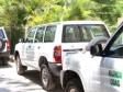 Haiti - Agriculture : Delivery of new vehicles to new departmental directors