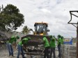 Haiti - Environment : Big sanitation campaign of the streets of Les Cayes