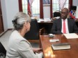 iciHaïti - Politique : Réunion entre le Ministre Fleurant et la nouvelle responsable de l'OCHA