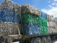 Haiti - DR : A truck of plastic waste from Haiti, blocked at the border