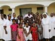 iciHaïti - Politique : Le Président Moïse en visite à la Maison provinciale des Soeurs Salésiennes