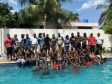 Haiti - Security : The agents of PoliTour learn to swim