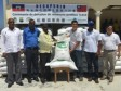 Haiti - Taiwan : Donation of 11,000 bags of TCS 10 rice seeds
