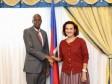 iciHaïti - Diplomatie : Le Président Moïse reçoit l'Ambassadrice de France en fin de mission