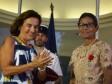 iciHaïti - Social : L'ex Protectrice du Citoyen, décorée par la France