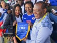 Haiti - France 2018 : Our Grenadières well supported on the spot by the Haitian officials