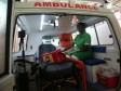 iciHaiti - Health : Delivery of a new ambulance to the Toussaint Louverture International Airport