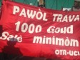 Haiti - Social : Minimum wage rejected, workers demand 1,000 gourdes per day