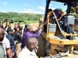 Haiti - Politic : Follow-up visit of PM of modernization works of the city of Belladère