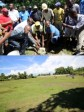 Haiti - Politic : Launch of the rehabilitation works of Park Ste Anne