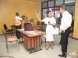 iciHaïti - Diaspora : Visite de la Ministre Ternier au Kiosque du MHAVE