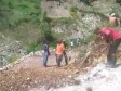 iciHaiti - Petit-Goâve : Follow-up of works on the road linking Molière to La Ferme