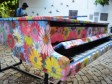 iciHaiti - Culture : A Pleyel piano decorated by the painter Frantz Zéphirin