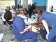 iciHaiti - Diaspora : Dental Clinic of Breakfast with Santa in Cité Soleil