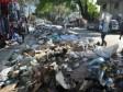 Haïti - Crise : Le service de la voirie de la capitale est suspendu