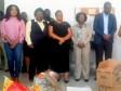 iciHaiti - Croix-des-Bouquets : Deputy Mayor Cétoute visits women at Cabaret Prison