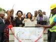 iciHaïti - Tourisme : Pose de la première pierre de la Place d'Armes d'Aquin