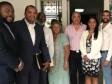 iciHaïti - Social : Le Ministre Charles rend visite à la famille du défunt journaliste Jimmy Ménard