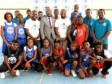iciHaiti - Basketball : Minister's visit to the camp of the Association BAL