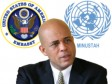 Haiti - Elections : Michel Martelly, the Minustah and U.S. Embassy react